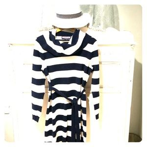Vineyard Vines Striped Tunic Sweater - Sz L